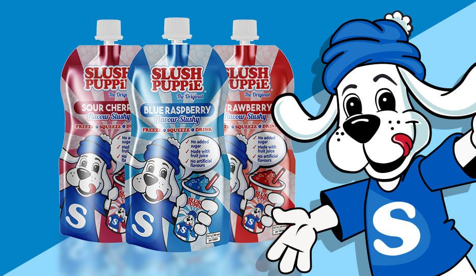 Slush Puppie Ice Pouches